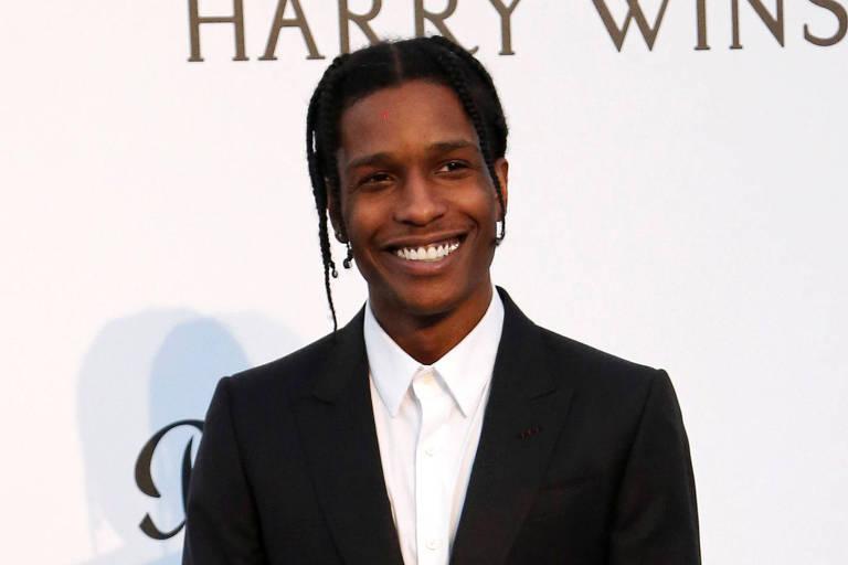 A$AP Rocky no 70º Festival de Cannes