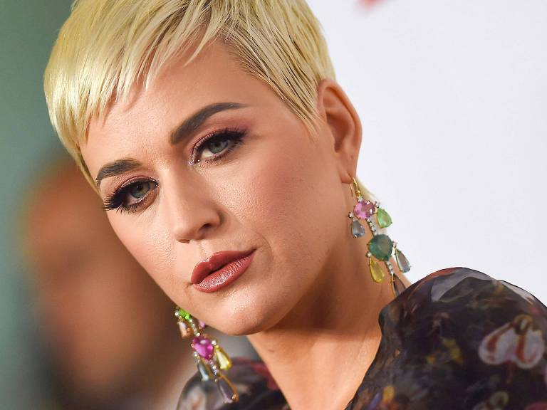 A cantora Katy Perry no MusiCares Person Of The Year