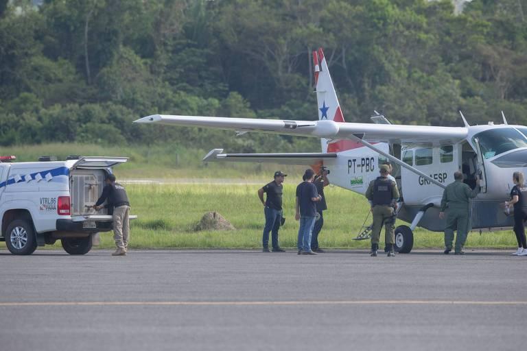 Presos envolvidos em massacre são transferidos em aeroporto de Altamira