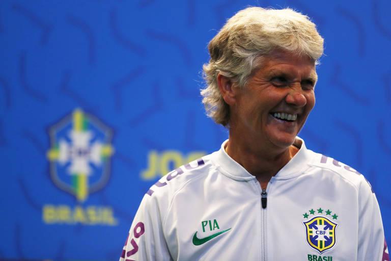 A sueca Pia Sundhage, nova técnica da seleção brasileira