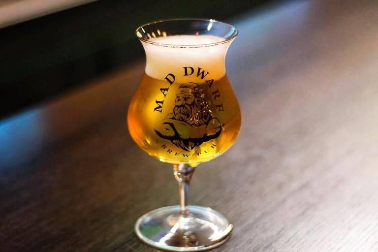 Cerveja da Mad Dwarf