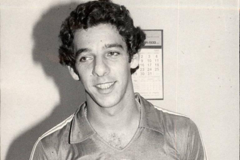 O goleiro João Marcos em seus primeiros meses de Palmeiras após deixar o Noroeste de Bauru