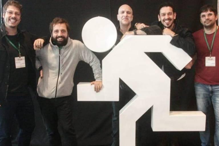 Fábio Porchat, Gregorio Duvivier, Antonio Tabet, João Vicente, do Porta dos Fundos