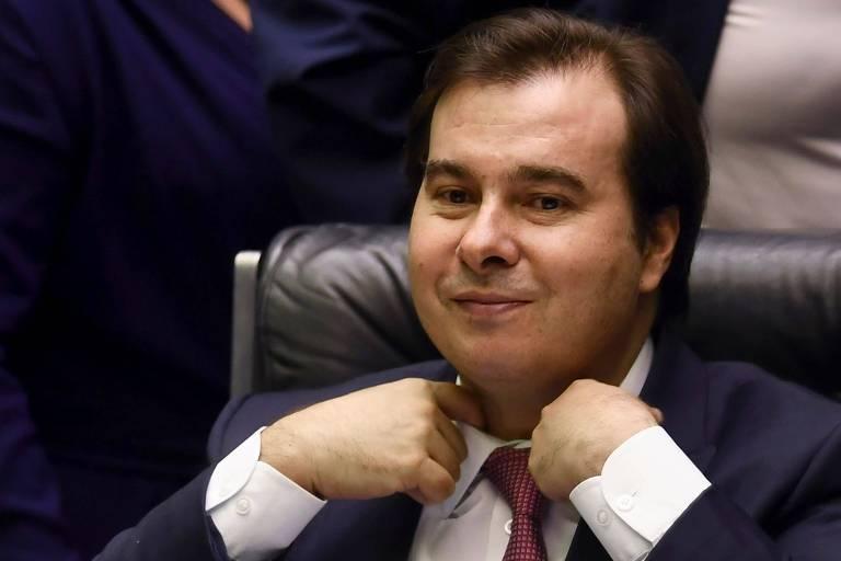 O presidente da Câmara, deputado Rodrigo Maia (DEM)