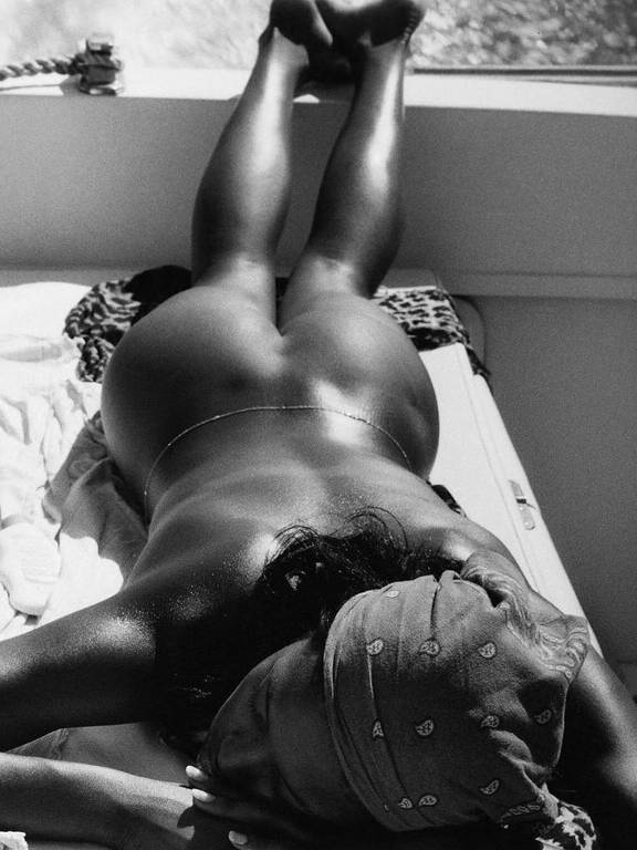 Naomi Campbell nua