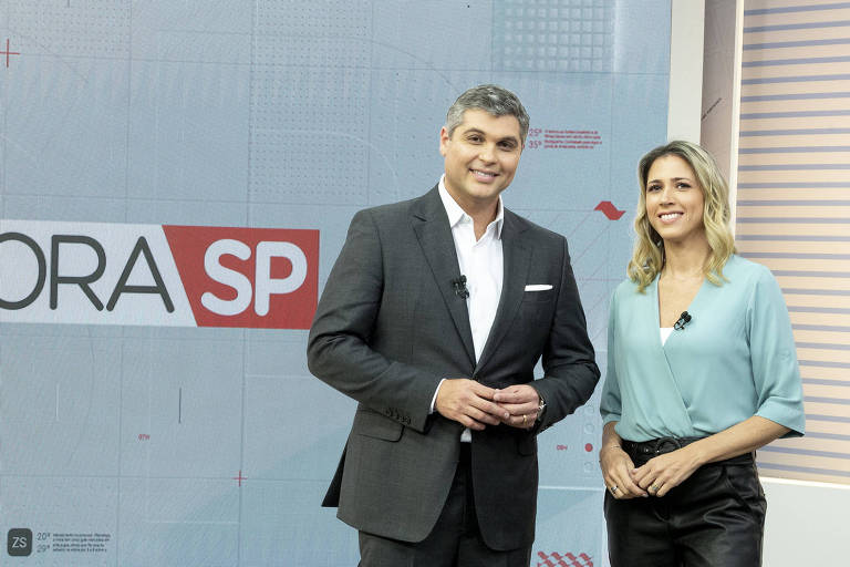 Joel Datena e Laura Ferreira