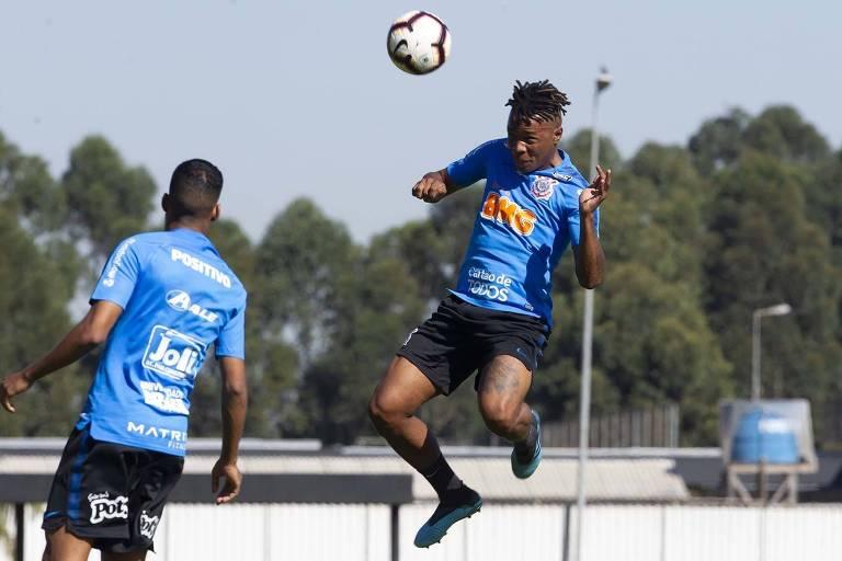 O volante Matheus Jesus  será titular do duelo contra o Montevideo Wanderers, no Uruguai