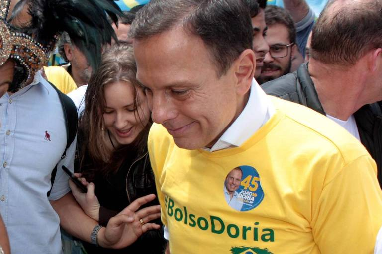 Pontos de distanciamento entre Bolsonaro e Doria