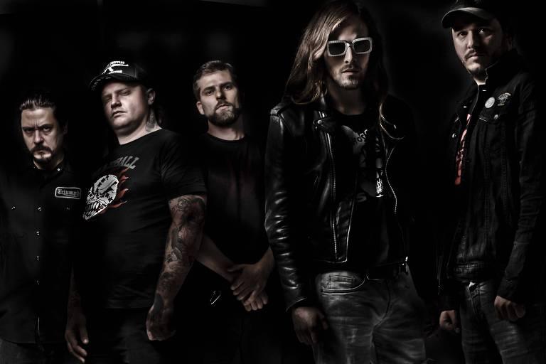 cinco homens punks