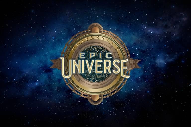 Logo no novo parque da Universal Studios, em Orlando