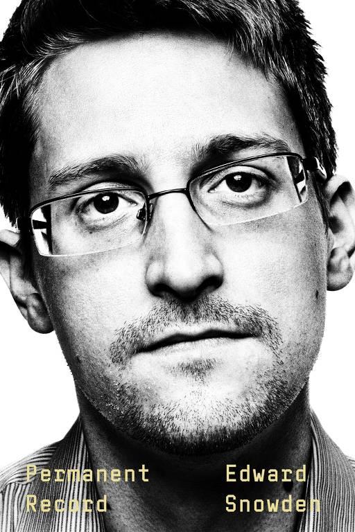 Capa do livro de Edward Snowden