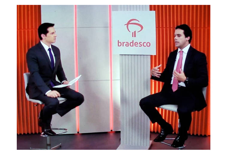 Dony De Nuccio entrevista executivo do Banco Bradesco