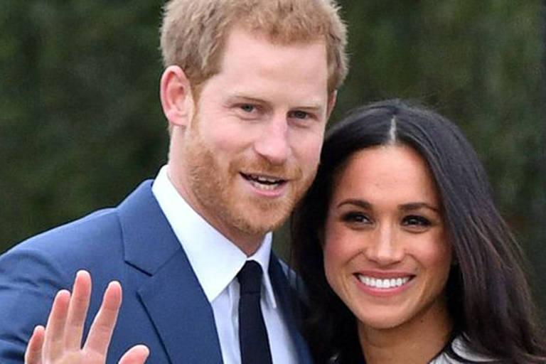 Príncipe Harry e Meghan Markle anunciaram o noivado em novembro de 2017