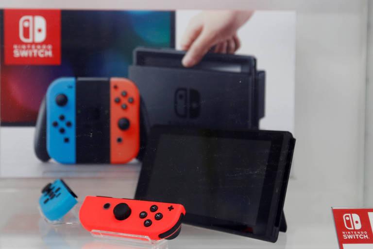 Console híbrido da Nintendo