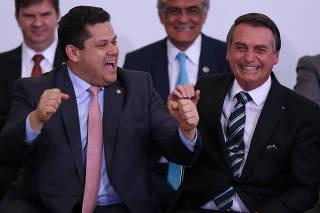 BOLSONARO / 200 DIAS DE GOVERNO / ALCOLUMBRE