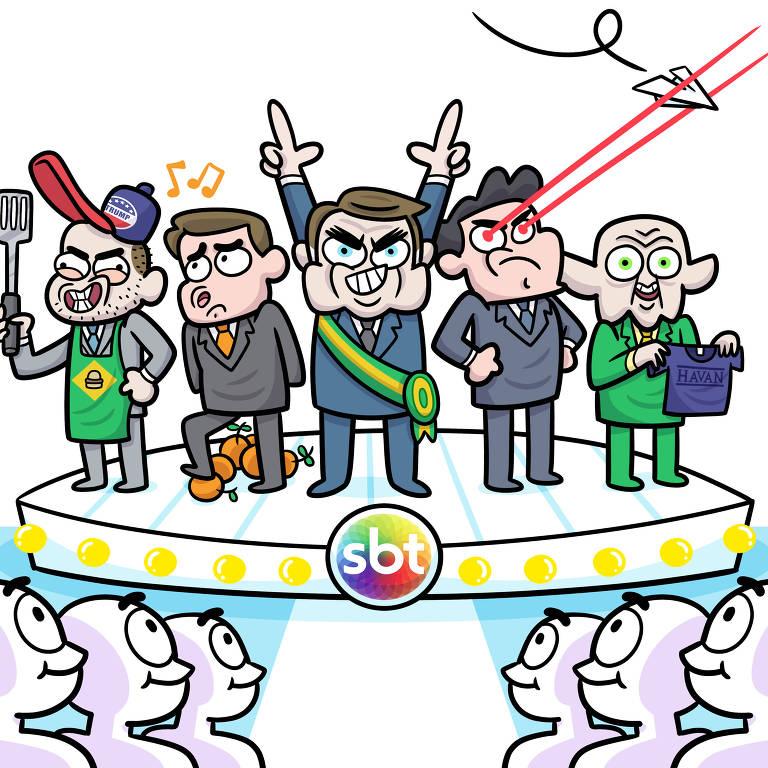Ilustração capa Ilustrada