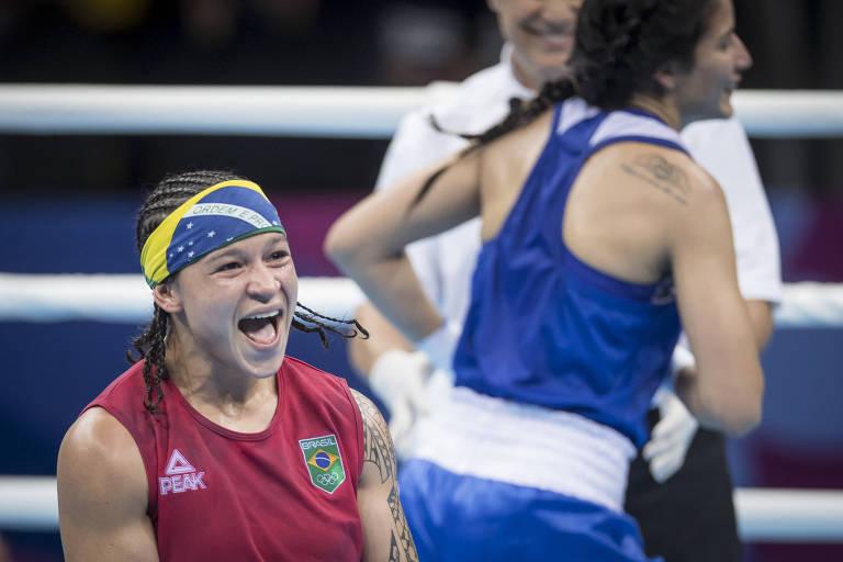 Bia Ferreira foi a primeira pugilista brasileira a conquistar a medalha de ouro em Pans