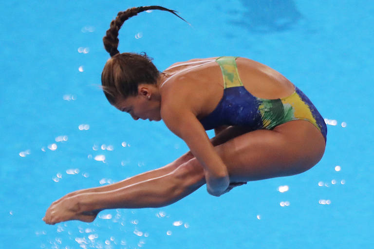 Brasileiros dos saltos ornamentais em Tóquio-2020