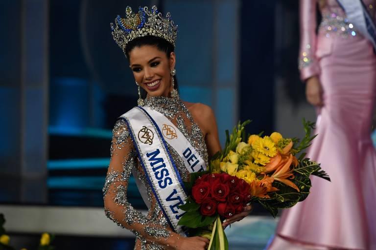 Thalia Olvino, a Miss Venezuela 2019