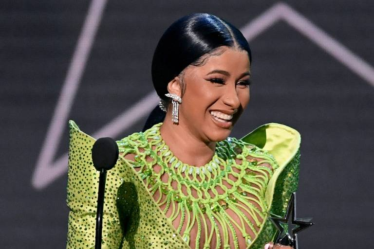 Cardi B no BET Awards 2019