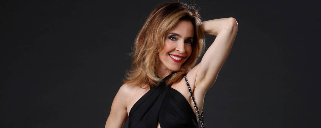A atriz Deborah Evelyn