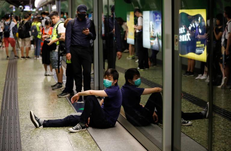 Protesto contra o governo de Hong Kong de 3 a 5 de agosto