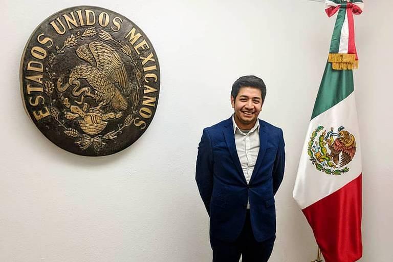 O mexicano Deyvid Morales, que criou dois aplicativos para imigrantes após quase ser deportado dos EUA