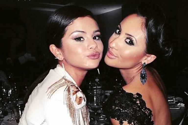 Selena Gomez e amiga Francia Raísa