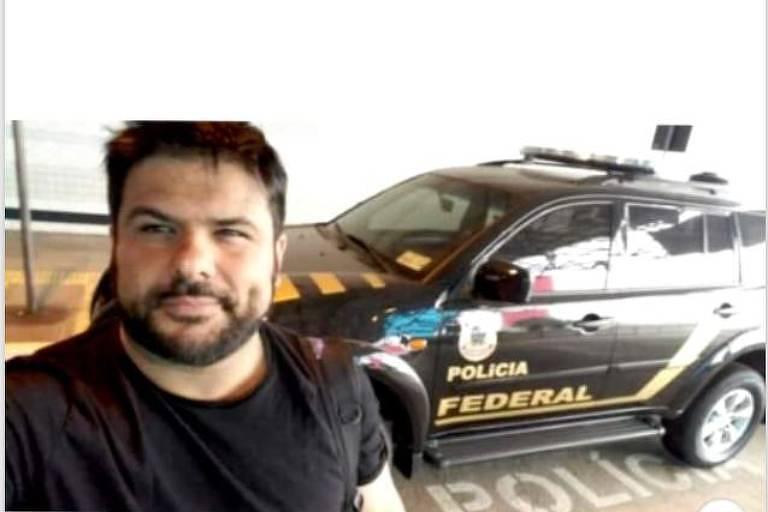 Daniel Lopes da Silveira, preso por fingir ser policial federal