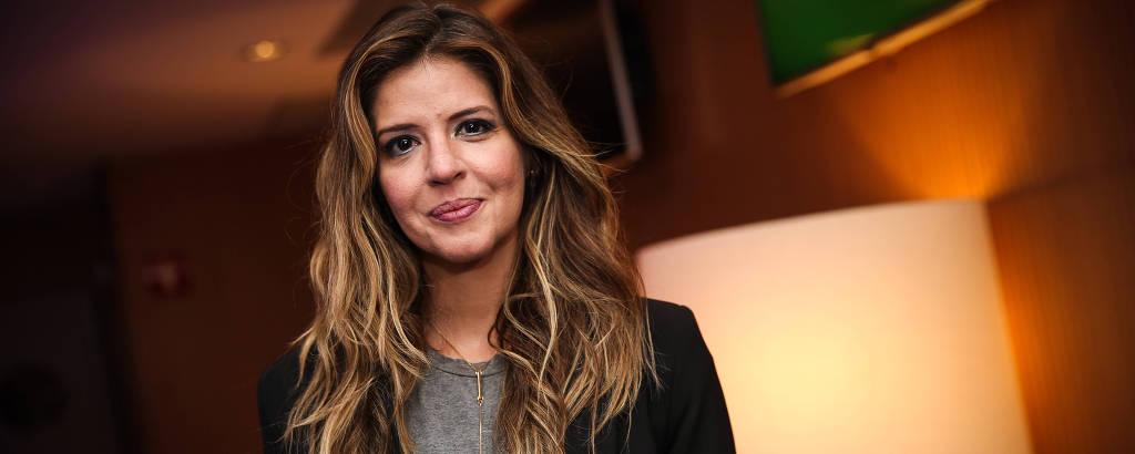 A atriz Mariana Santos