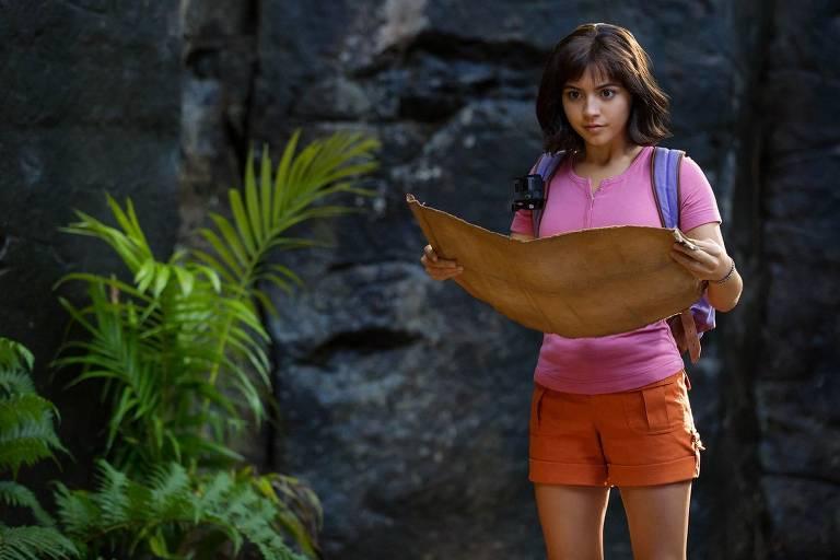 Cenas do filme 'Dora e a Cidade Perdida'