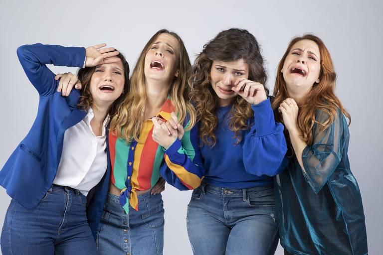 Andrezza Abreu, Anita Chaves, Karina Ramil e Lorena Comparato