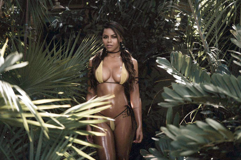 Candidatas a Miss Bumbum World na Amazônia