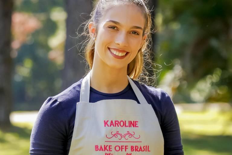 Karoline é vencedora da 5ª temporada do Bake Off Brasil
