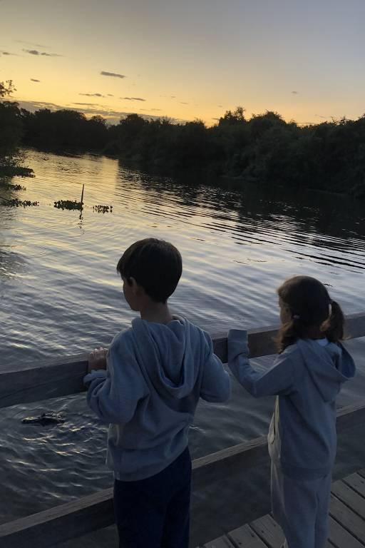 Pantanal é destino de família com crianças