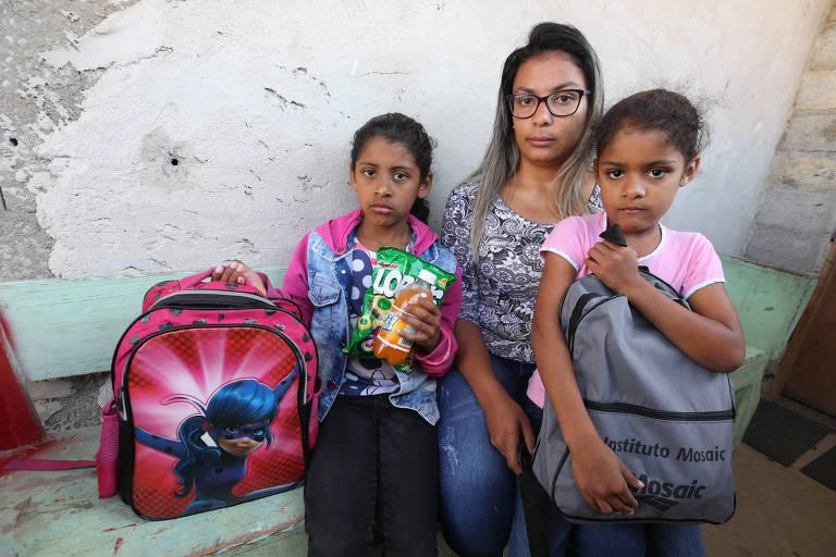Escolas estaduais trocam merenda por lanche