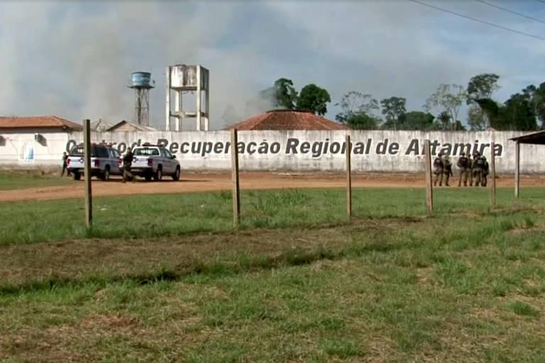 Prédio do Centro de Recuperação Regional de Altamira, no sudoeste do Pará