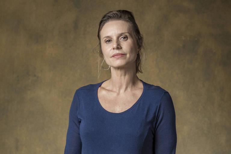 Paula Burlamaqui na novela 'Órfãos da Terra' (Globo)