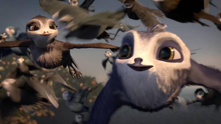 Veja cenas de 'Voando Alto'