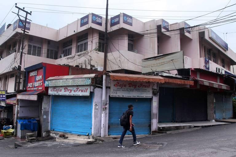 Turbulência na Caxemira