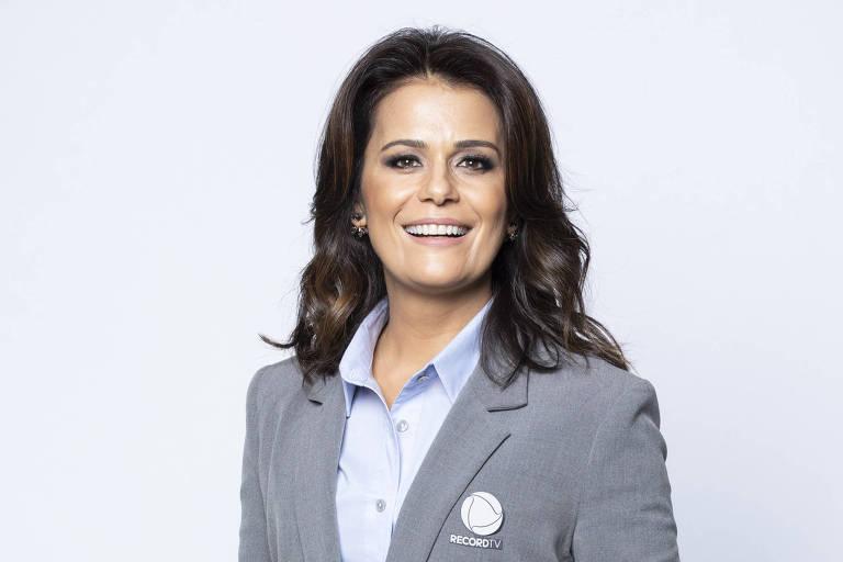 Adriana Araújo no Pan da Record