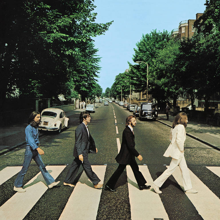 Foto que ilustra a capa do 'Abbey Road', dos Beatles, completa 50 anos