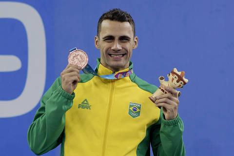 Após treinos em piscina gelada e desânimo, Leo de Deus vive o sonho olímpico