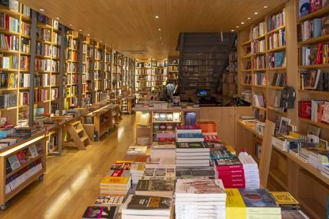 SAO PAULO - SP - 07.08.2019 - Retrato de Rui Campos, fundador da Livraria da Travessa, que abre a primeira loja de rua da rede em São Paulo. (Foto: Danilo Verpa/Folhapress, ILUSTRADA)