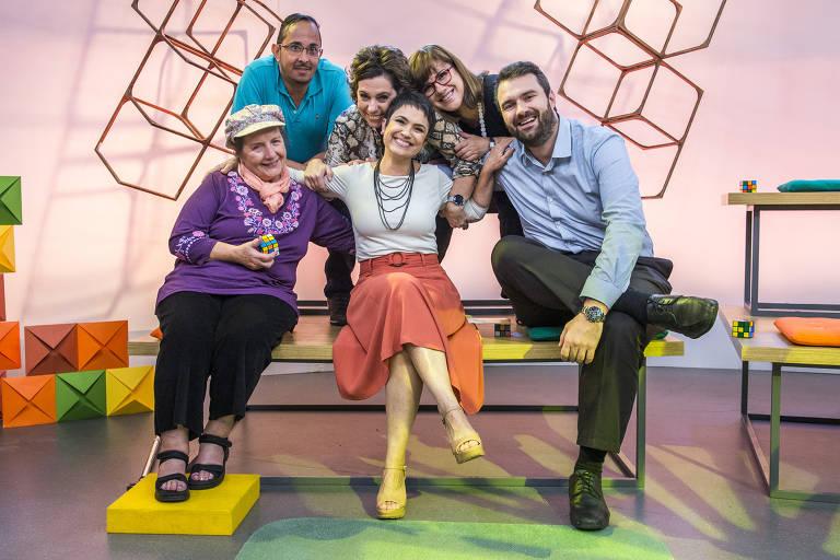 Sandra Annenberg recebe cinco telespectadores fiéis no estúdio do Como Será?