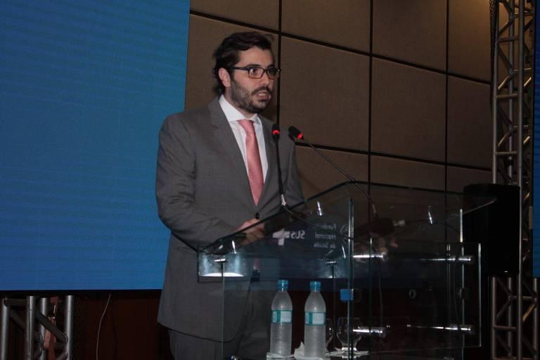 Rodrigo Sergio Dias, novo chefe do FNDE, do Ministério da Educação