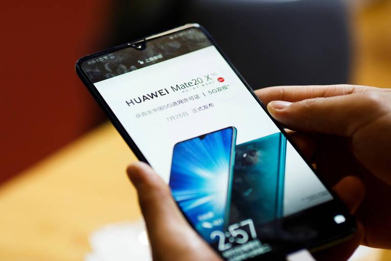 Lançamento da Huawei, Mate 20 X é smartphone 5G da companhia chinesa