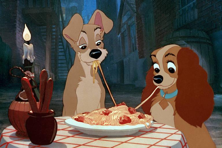 """Clássico da Disney """"A Dama e o Vagabundo"""""""
