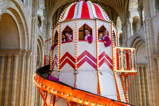 Launch of 'Seeing it Differently' at Norwich Cathedral