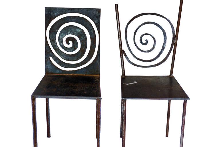 Miniaturas da coleção Desconfortáveis, dos irmãos Campana, que durante a DW! estarão em exibição na Casa de Vidro, no Instituto Bardi